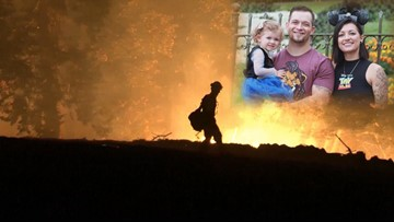Akron native loses home in Camp wildfire in California