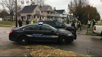 Cleveland sanitation worker shot and killed on city's east side; suspect at large