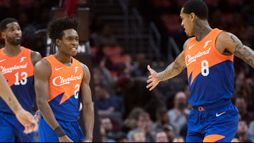 Cleveland Cavaliers showcase 'City Edition' uniform and court in win over Charlotte Hornets