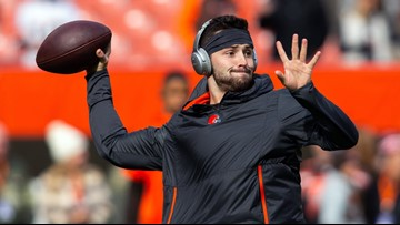 Cleveland Browns QB Baker Mayfield teams up with Barstool Sports to raise money for Special Olympics
