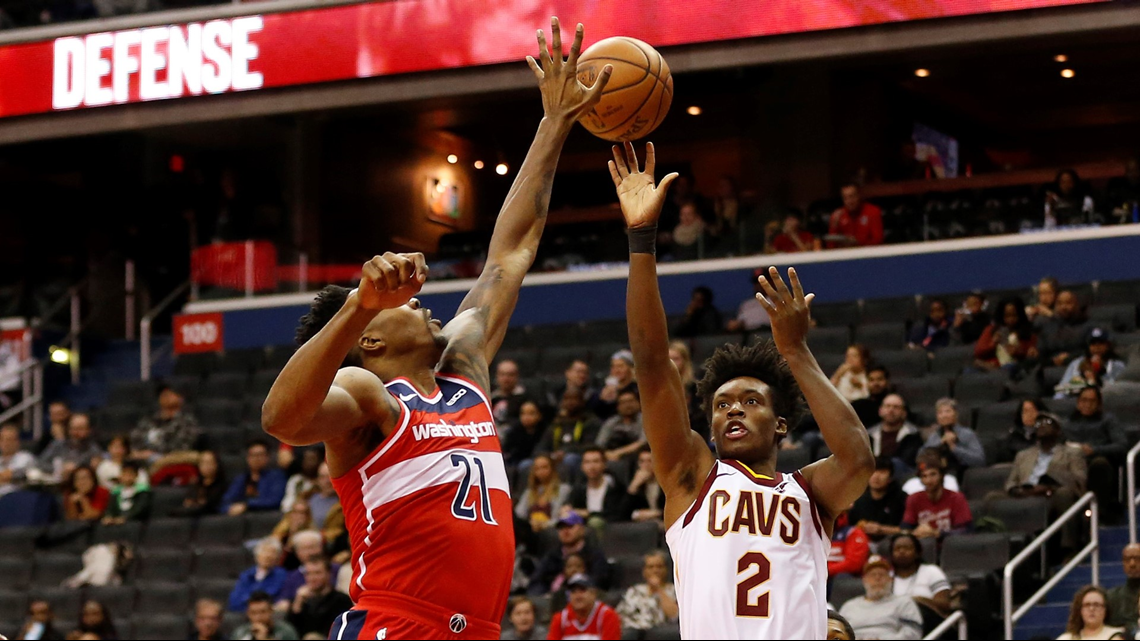 Despite Collin Sexton's 24 points, Washington Wizards rout Cleveland Cavaliers 119-95