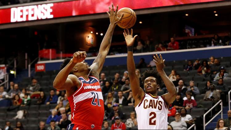 Despite Collin Sexton's 24 points, Washington Wizards rout Cleveland Cavaliers 119-95