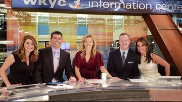 Mark Nolan and Carole Chandler Sullivan reunited at WKYC anchor desk for 'Throwback Thursday'