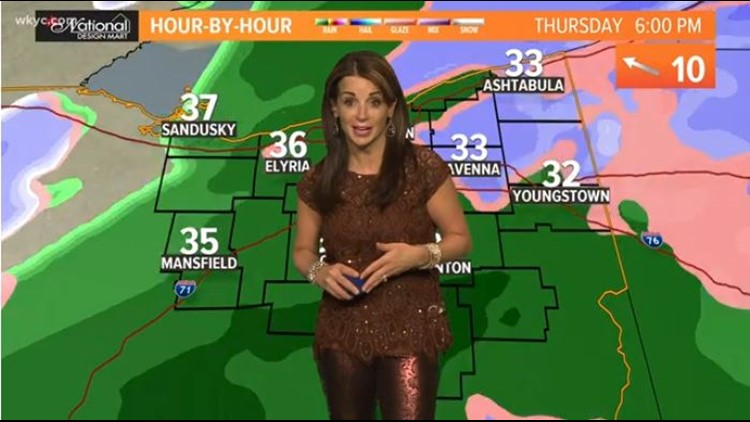 FORECAST | Wintry Mess To Snow This Evening