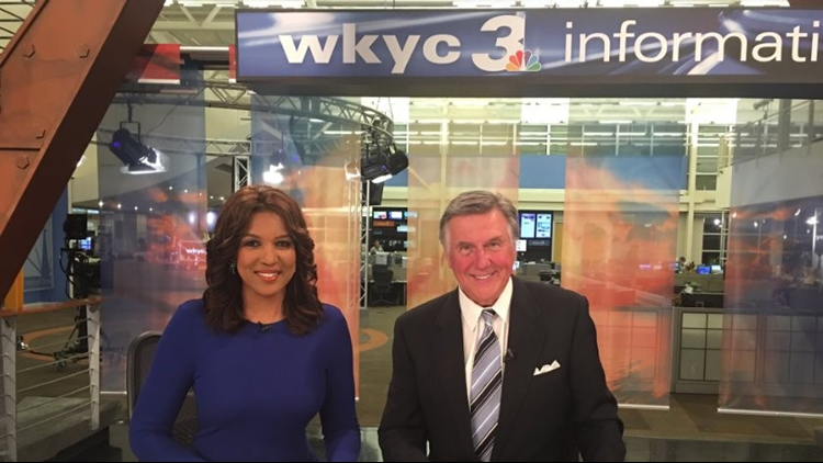 #ThrowbackThursday: Tim White and Romona Robinson return to WKYC anchor desk