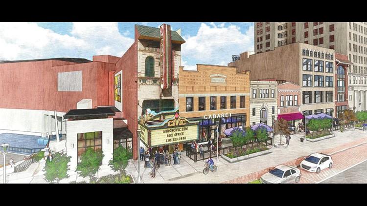 Akron Civic Theatre plans restoration, expansion project