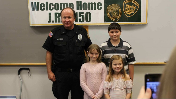 Lorain County SWAT officer shot in summer standoff is on the mend