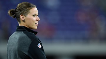Few in number now, female coaches making inroads in National Football League