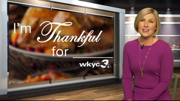 HAPPY THANKSGIVING | WKYC's Sara Shookman reveals what she's most thankful for