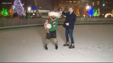 Cleveland's Public Square prepares for Winterfest; ice rink opens this weekend