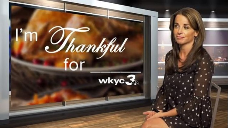 HAPPY THANKSGIVING | WKYC's Hollie Strano reveals what she's most thankful for