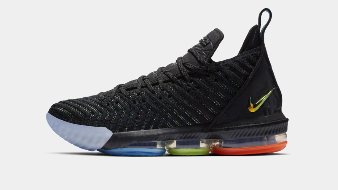 4f7f676e3fe6 Nike releases LeBron 16  I Promise  shoe inspired by LeBron James Family  Foundation