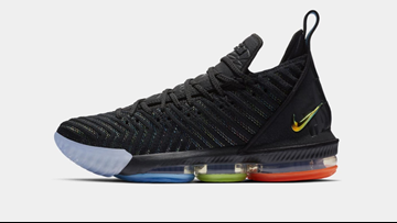 Nike releases LeBron 16 'I Promise' shoe inspired by LeBron James Family Foundation