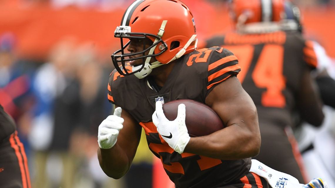 Akron Gas Prices >> Nick Chubb says Cleveland Browns will make the playoffs in ...