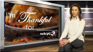 HAPPY THANKSGIVING | WKYC's Betsy Kling reveals what she's most thankful for