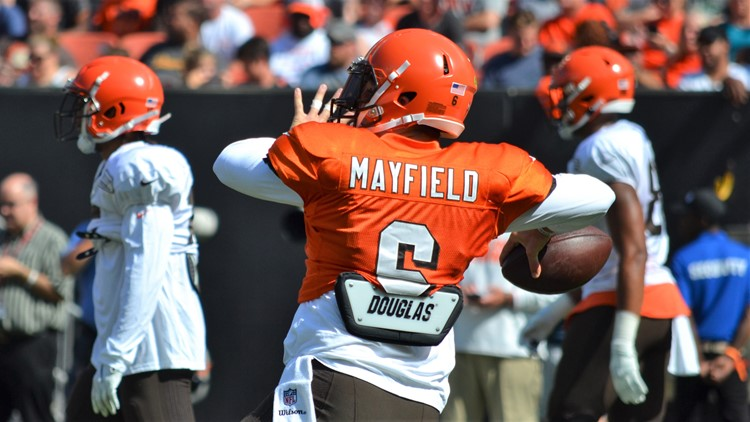 Baker Mayfield Cleveland Browns' Orange and Brown Scrimmage-August 3, 2019