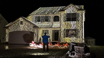 'Wadsworth Griswold House' lights up to raise money for cystic fibrosis research