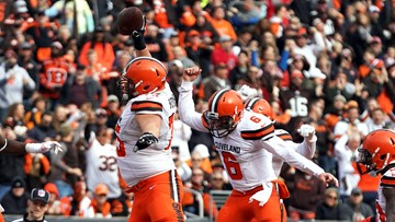 Watch: Top five celebrations from the Browns' 2018 season