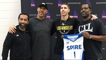 LaMelo Ball scores 17 as SPIRE Institute tops Garfield Heights 93-60