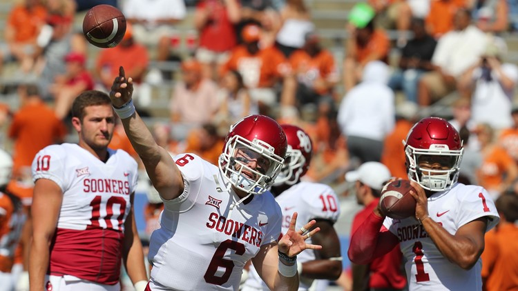 6e843ced2 Cleveland Browns QB Baker Mayfield votes for Oklahoma's Kyler Murray on  first Heisman Trophy ballot