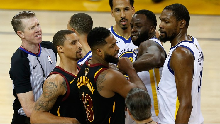 8ba9c62d9 Tristan Thompson downplays Cleveland Cavaliers-Golden State Warriors rivalry