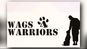 Wags 4 Warriors: Channel 3 teams up with organization to help Veterans in need