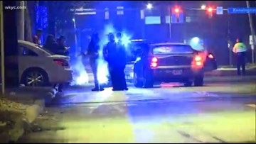 Woman in serious condition after struck by vehicle in Cleveland