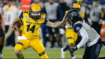Kent State beats Utah State in Frisco Bowl for first bowl win in school history