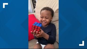 Boy genius! Watch as a 3-year-old Cleveland boy solves Rubik's Cube