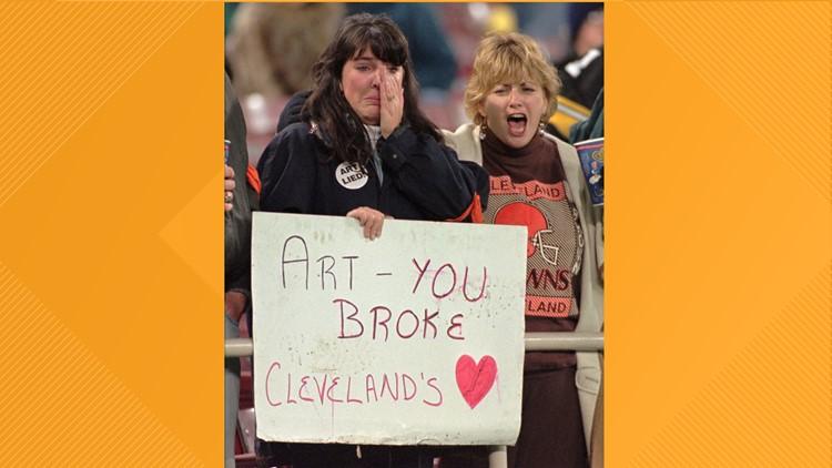 Art Modell Cleveland Browns fans