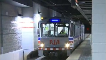 RTA Red Line reopens from airport to Tower City Monday