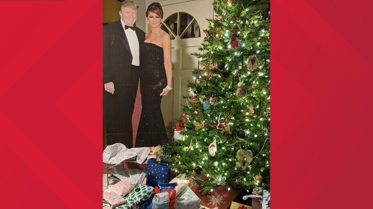 Brunswick girl asks for 'giant' President Trump, Santa delivers
