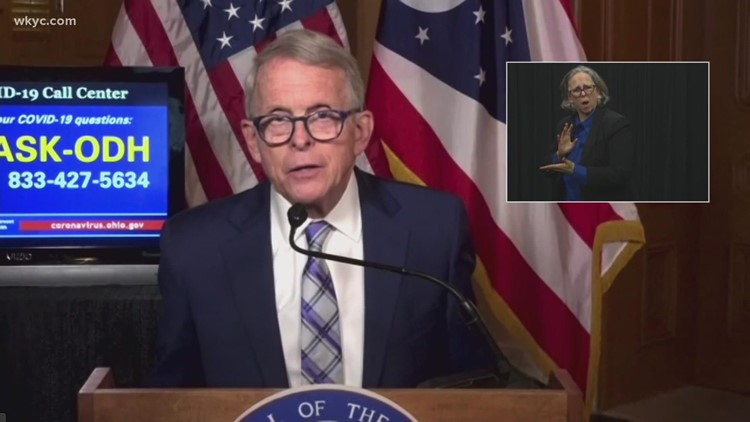 WATCH LIVE: Ohio Gov. Mike DeWine holds press conference on rising COVID-19 hospitalization numbers