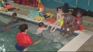 Teaching your children swimming safety skills