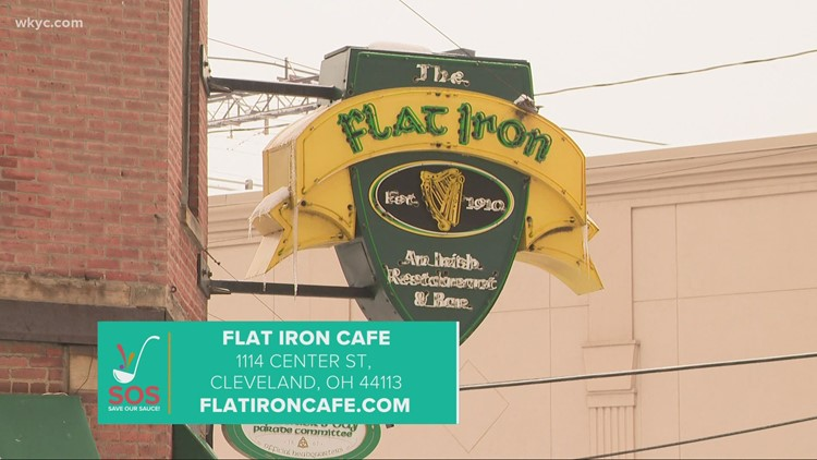 Flat Iron Cafe in downtown Cleveland: Save our Sauce