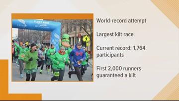 St.Patrick's Day Kilt Race, part two