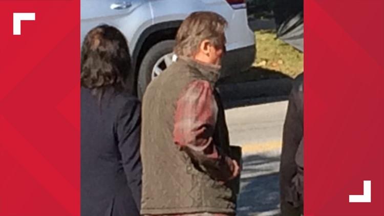 Liam Neeson filming 'The Minuteman' movie in Northeast Ohio October 8, 2019