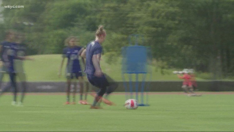 Clicking in Cleveland: USWNT in town for prior to friendly match against Paraguay