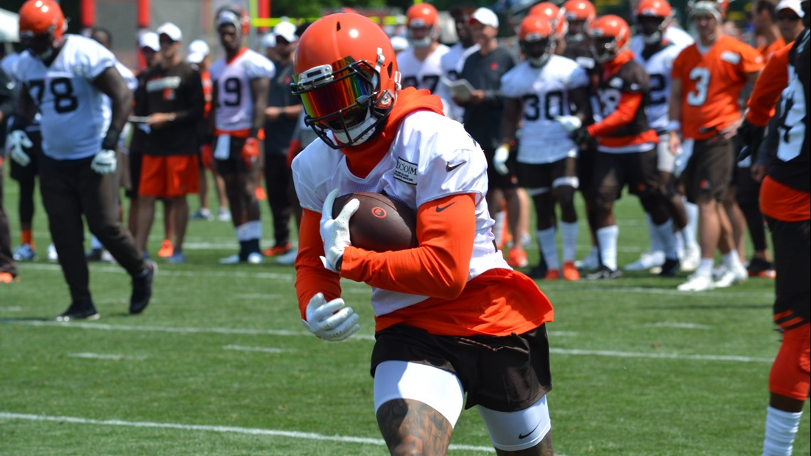 Cleveland Gas Prices >> Watch: Odell Beckham Jr. makes memorable plays on first day of Cleveland Browns training camp ...