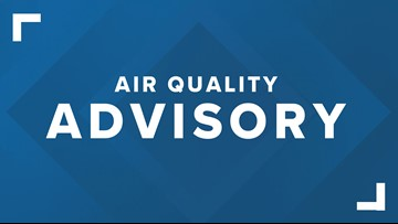 Air Quality Advisory issued for northeast Ohio for unhealthy air levels
