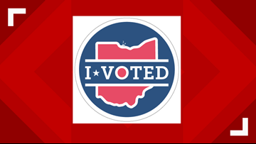 Voting for Ohio's newest 'I Voted' sticker continues through this Friday
