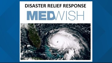 Medwish to accept donations for Hurricane Dorian victims
