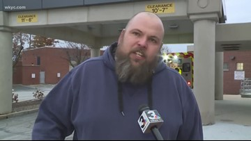 How did employees, patients, and families react to active shooter situation at Medina Hospital