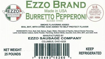 Ohio sausage company recalls meat due to possible Listeria contamination