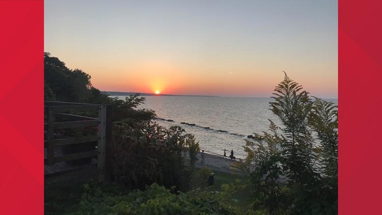 Rocky River Park is a hidden gem with beautiful sunset views.