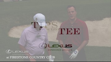 Lexus Tips from the Tee: How to hit long chip shot out of rough