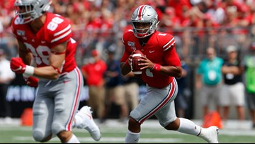 Fields' Day: New QB helps Ohio State roll over Florida Atlantic 45-21