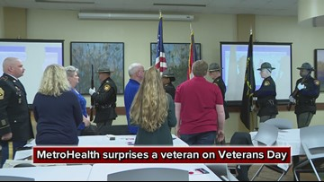 A heartwarming surprise on Veterans day