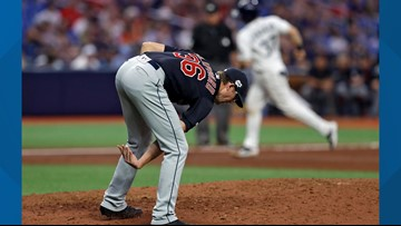 Tampa Bay Rays Overpower Cleveland Indians Try For Sweep