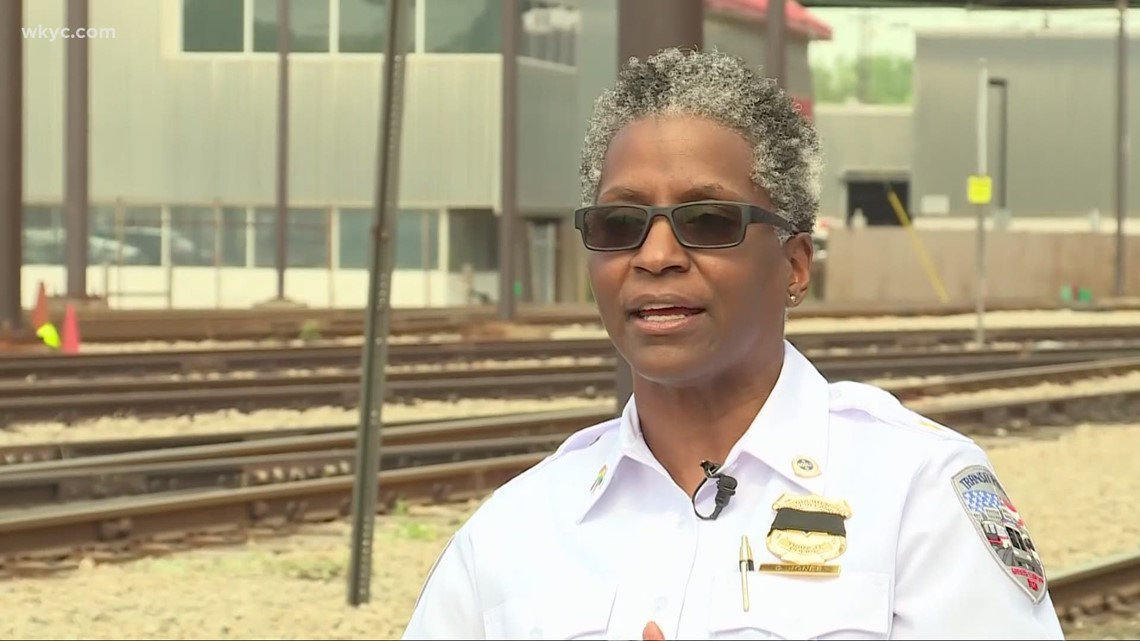 Boss Ladies of CLE: RTA Transit Police Chief Deirdre Jones
